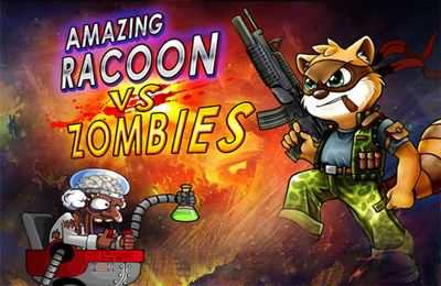 Amazing raccoon vs zombies