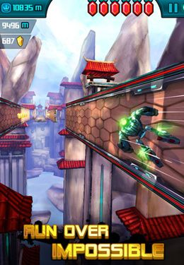 Screenshots of the Amazing Runner game for iPhone, iPad or iPod.