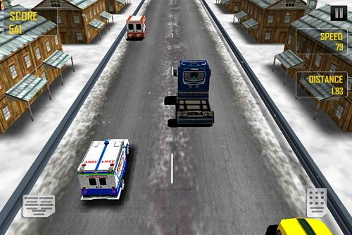 Игра Ambulance: Traffic rush для iPhone