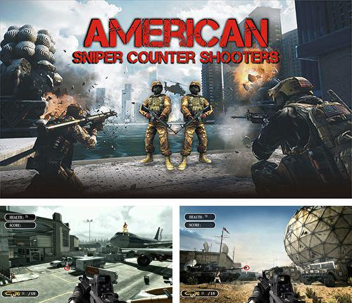 In addition to the game Zombie Mob Defense for iPhone, iPad or iPod, you can also download American sniper: Counter shooters for free.