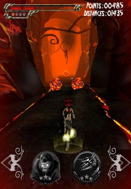 Screenshots vom Spiel Ameya Jungle Warrior für iPhone, iPad oder iPod.