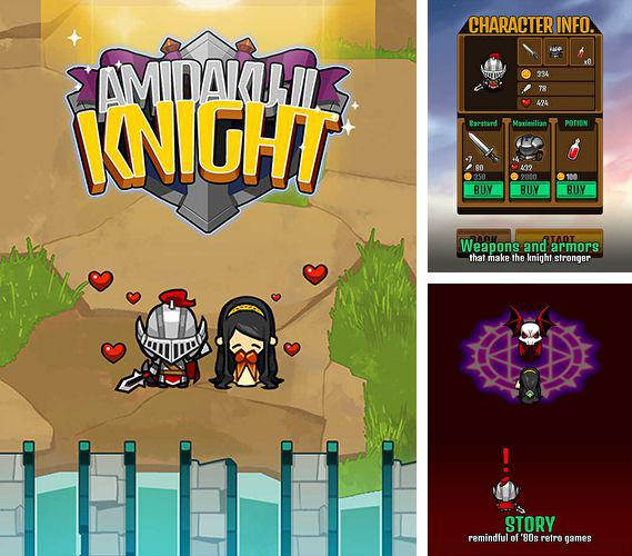 In addition to the game Mole's world for iPhone, iPad or iPod, you can also download Amidakuji knight for free.