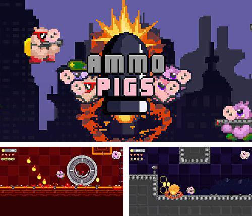 In addition to the game Grabatron for iPhone, iPad or iPod, you can also download Ammo pigs for free.