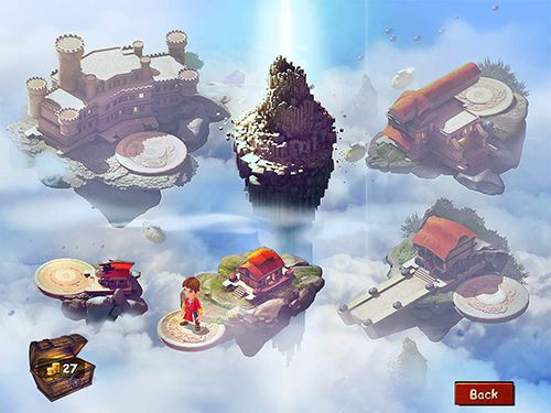 Capturas de pantalla del juego Among the heavens para iPhone, iPad o iPod.