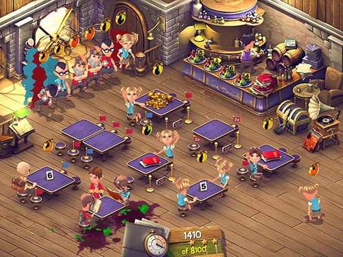 iPhone、iPad 或 iPod 版Farm Frenzy 2: Pizza Party HD游戏截图。