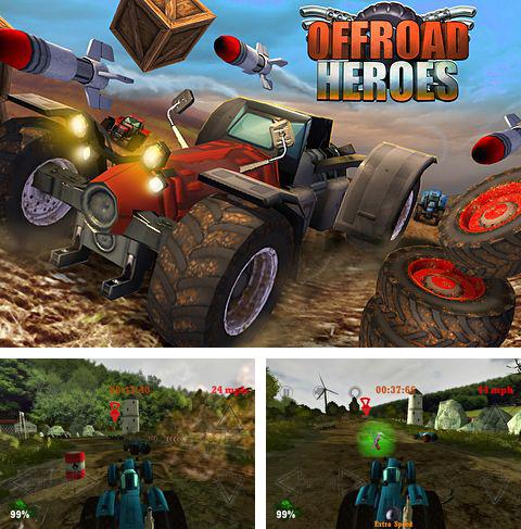 In addition to the game Cluck 'n' Load: Chicken & Egg Defense, Full Game for iPhone, iPad or iPod, you can also download An offroad heroes for free.