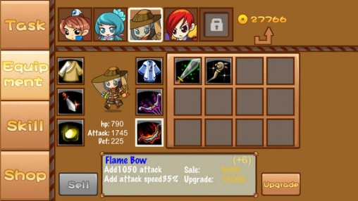 Download Ancient defense iPhone free game.