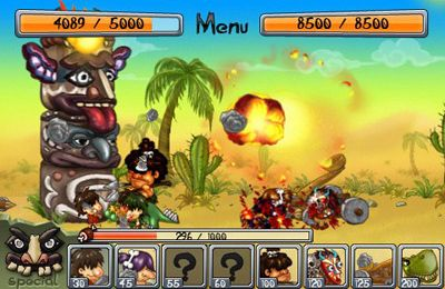 Screenshots vom Spiel Ancient War für iPhone, iPad oder iPod.