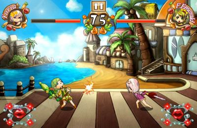 Screenshots vom Spiel Angel Fight HD für iPhone, iPad oder iPod.
