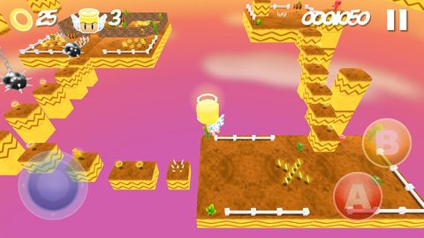 Screenshots do jogo Angel in danger para iPhone, iPad ou iPod.