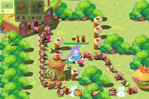 Screenshots of the Angel town game for iPhone, iPad or iPod.