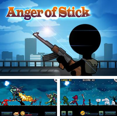 In addition to the game Fish Heroes for iPhone, iPad or iPod, you can also download AngerOfStick for free.