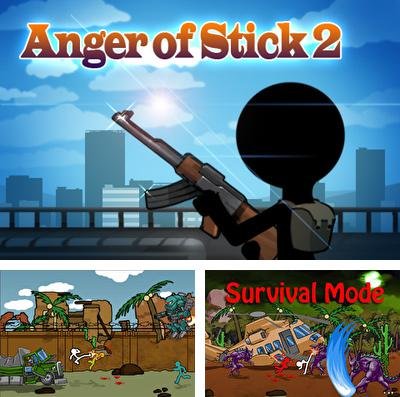 In addition to the game C.H.A.O.S Pro for iPhone, iPad or iPod, you can also download AngerOfStick 2 for free.