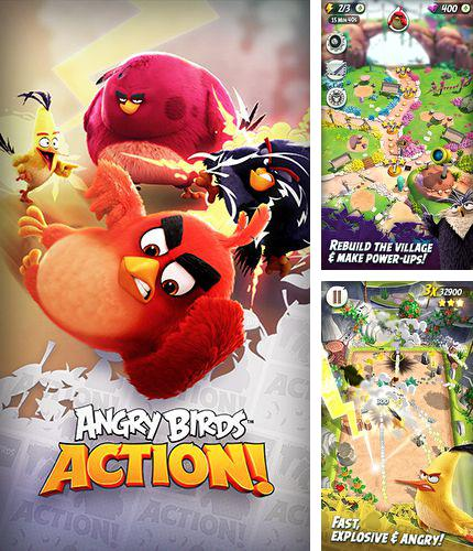 In addition to the game Jigsaw mansion 2 for iPhone, iPad or iPod, you can also download Angry birds action! for free.