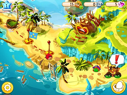 Download Angry birds: Epic iPhone free game.
