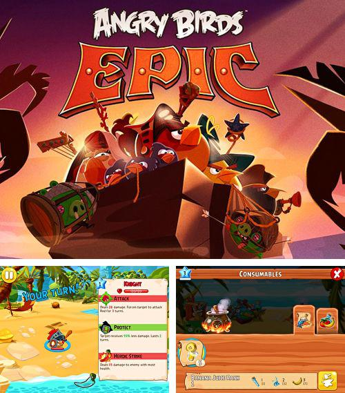 In addition to the game The Croods for iPhone, iPad or iPod, you can also download Angry birds: Epic for free.