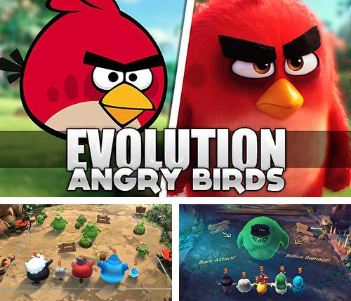 Download Angry birds: Evolution iPhone free game.