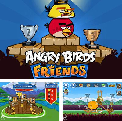 In addition to the game C.H.A.O.S for iPhone, iPad or iPod, you can also download Angry Birds Friends for free.