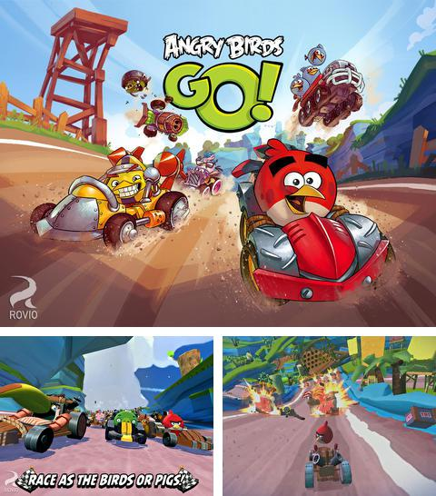 In addition to the game Pirates legend for iPhone, iPad or iPod, you can also download Angry Birds Go! for free.