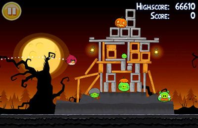 Download Angry Birds Halloween iPhone free game.