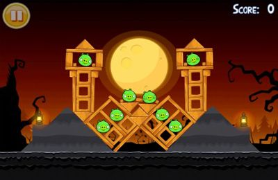 Free Angry Birds Halloween download for iPhone, iPad and iPod.