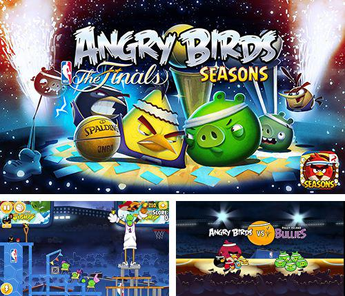 In addition to the game Goats and Gadgets for iPhone, iPad or iPod, you can also download Angry birds: NBA the finals for free.