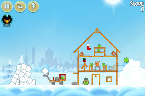 Free Angry birds: On Finn ice download for iPhone, iPad and iPod.