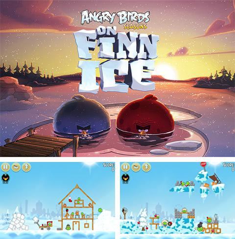 Kostenloses iPhone-Game Angry Birds: On Finn Ice See herunterladen.