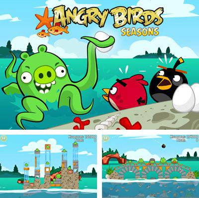 In addition to the game Lines for iPhone, iPad or iPod, you can also download Angry Birds Seasons: Water adventures for free.