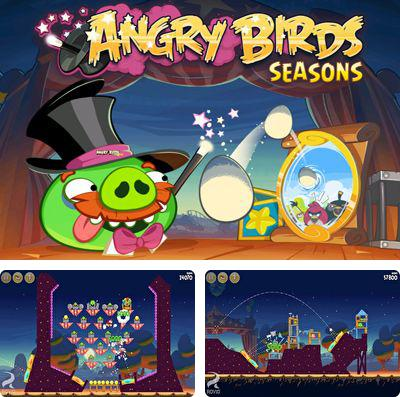In addition to the game Geometry dash: Meltdown for iPhone, iPad or iPod, you can also download Angry Birds Seasons - Abra-Ca-Bacon! for free.