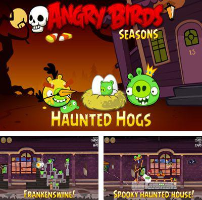 En plus du jeu Légende de la Lune pour iPhone, iPad ou iPod, vous pouvez aussi télécharger gratuitement Angry Birds: La Maison aux Fantômes, Angry Birds Seasons: Haunted hogs.