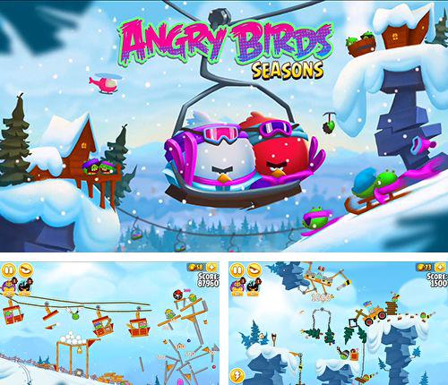 In addition to the game The Pyraplex for iPhone, iPad or iPod, you can also download Angry birds. Seasons: Ski or squeal for free.
