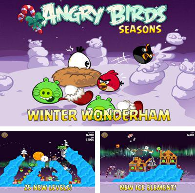 In addition to the game Fluffy Birds for iPhone, iPad or iPod, you can also download Angry Birds Seasons: Winter Wonderham for free.