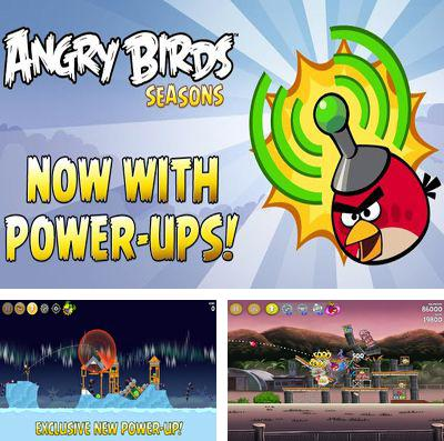 En plus du jeu Le Péteur pour iPhone, iPad ou iPod, vous pouvez aussi télécharger gratuitement Angry Birds Redoublement des Puissances, Angry Birds Seasons: with power-ups.