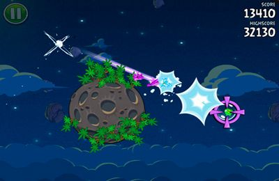 Download Angry Birds Space iPhone free game.
