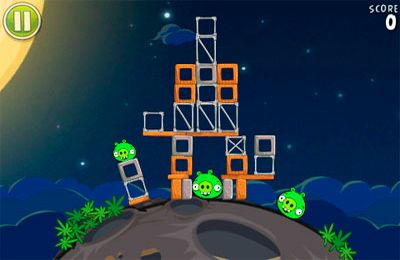 下载免费 iPhone、iPad 和 iPod 版Angry Birds Space。