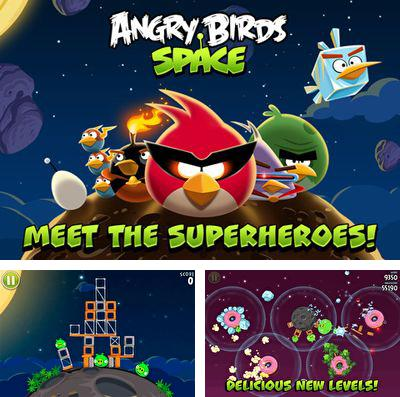 In addition to the game Wild life. America: Your own wildlife park for iPhone, iPad or iPod, you can also download Angry Birds Space for free.
