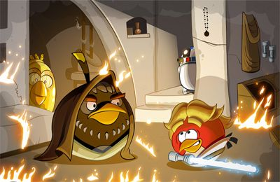 Download Angry Birds Star Wars iPhone free game.