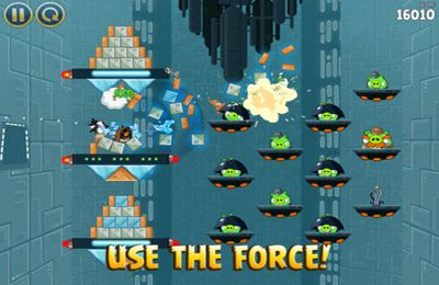 Descarga gratuita de Angry Birds Star Wars para iPhone, iPad y iPod.