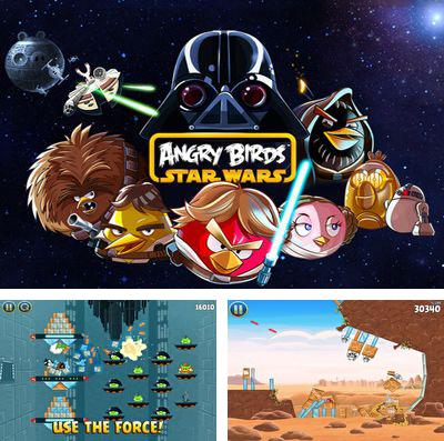 In addition to the game Running Fred for iPhone, iPad or iPod, you can also download Angry Birds Star Wars for free.