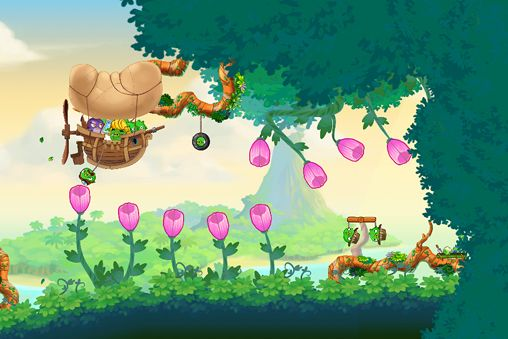 Descarga gratuita de Angry birds: Stella para iPhone, iPad y iPod.