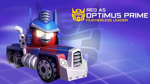 Download Angry birds: Transformers iPhone free game.