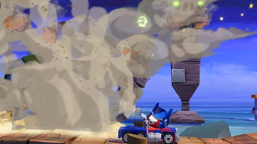 Free Angry birds: Transformers download for iPhone, iPad and iPod.