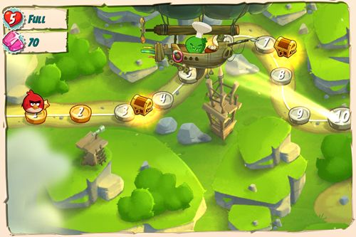 Download Angry birds: Under pigstruction iPhone free game.
