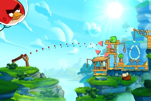 Kostenloser Download von Angry birds: Under pigstruction für iPhone, iPad und iPod.