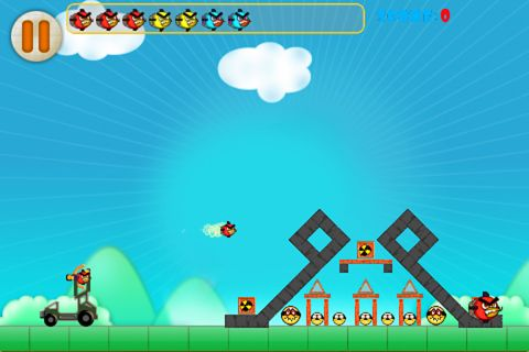 Screenshots do jogo Angry bomb 2 para iPhone, iPad ou iPod.