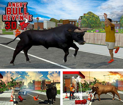 In addition to the game Zombie crack for iPhone, iPad or iPod, you can also download Angry bull: Revenge 3D for free.