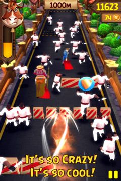 Descarga gratuita de Angry Bulls 2 para iPhone, iPad y iPod.