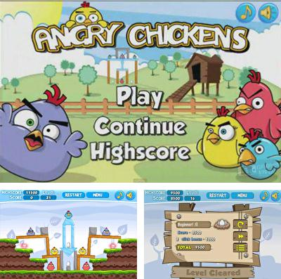 In addition to the game Wonder Pants for iPhone, iPad or iPod, you can also download Angry Chickens Pro for free.