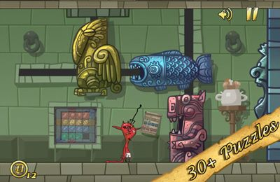 Screenshots of the Angry Devil game for iPhone, iPad or iPod.